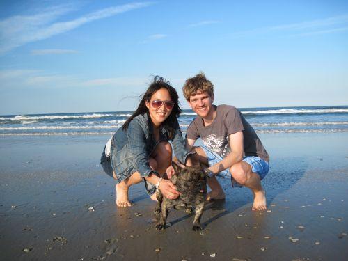 Mica, Harrison, Bodger at Carova Beach