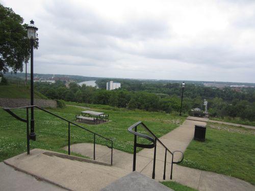 Libby Hill Park fountain, Richmond, VA