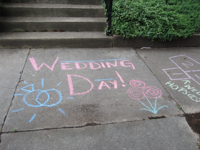 Wedding Victory Chalk