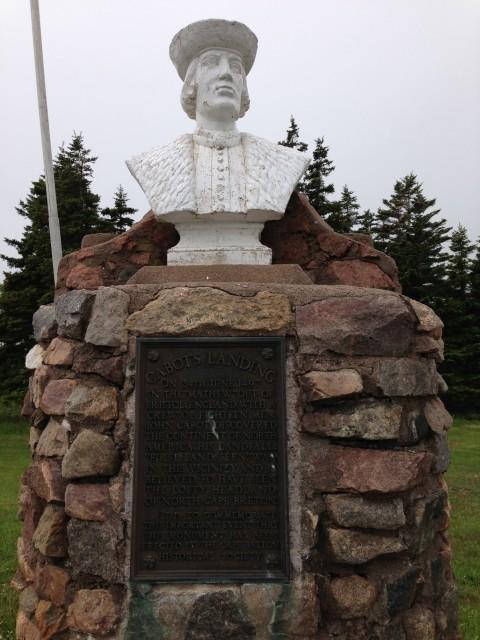 John Cabot bust