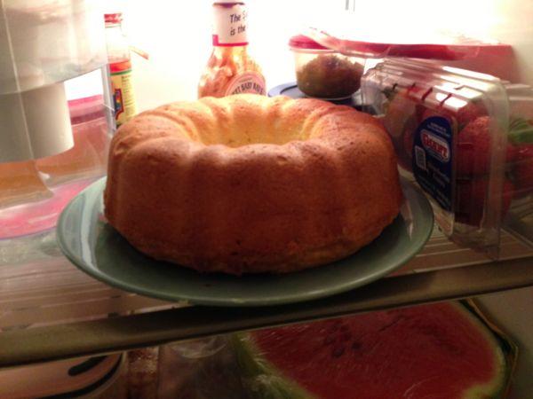 Amanda's cheese poundcake
