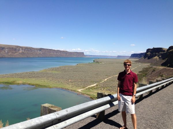 Harrison at Coulee Dam