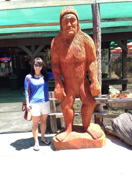 Mica & Bigfoot Statue