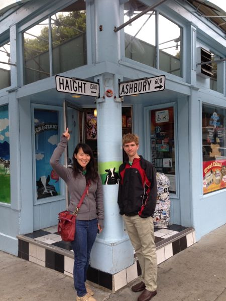 at Haight-Ashbury