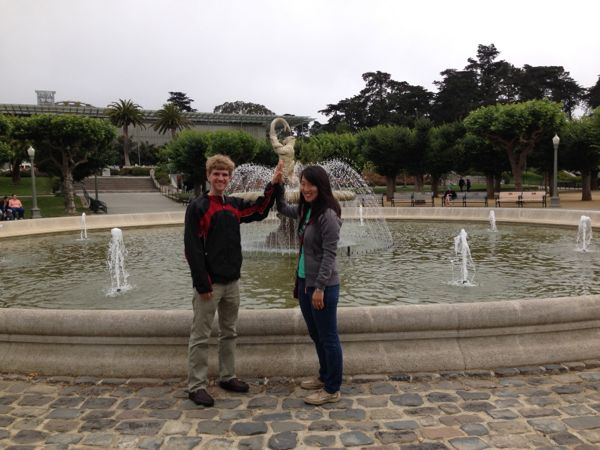 fountain, Golden Gate Park
