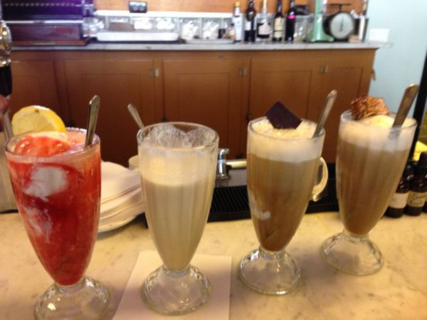 soda fountain drinks