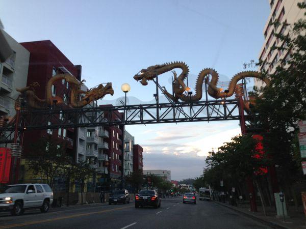 Chinatown gate, LA