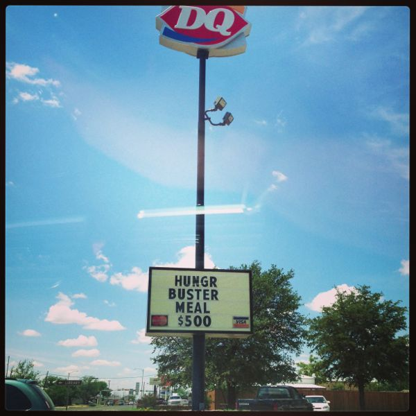 DQ sign - $500