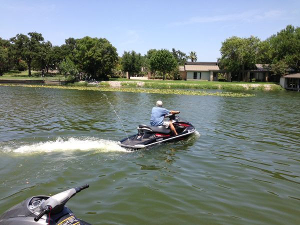 Richard on jetski