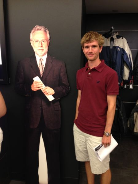 Wolf Blitzer cut-out